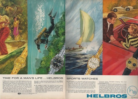 helbros watches esquire ad