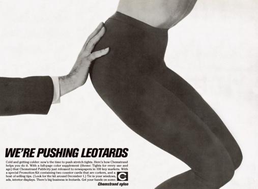 pushing leotards chemstrand lois