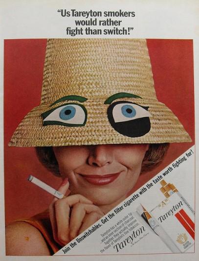 tareyton smokers
