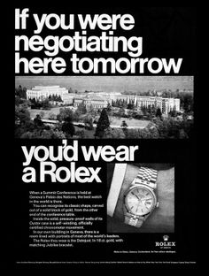 rolex negotiating