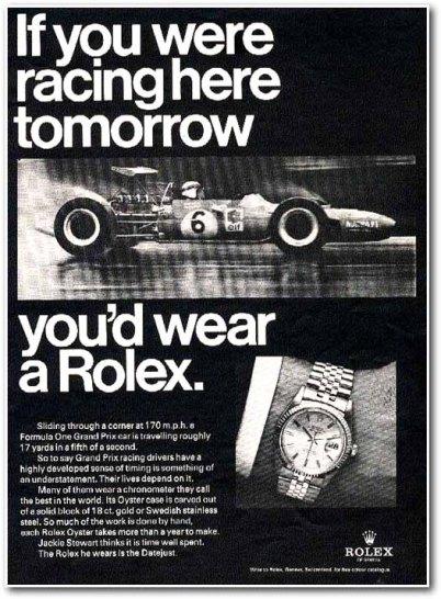Rolex1968 racing formula one
