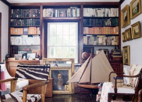 India Hicks home in the Bahamas - library.jpg